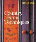 Country Paint Techniques