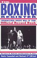 Boxing Register International Boxing Hall of Fame Official Record Book
