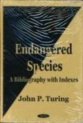 Endangered Species A Bibliography With Indexes