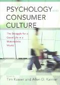 Psychology and Consumer Culture The Struggle for a Good Life in a Materialistic World