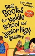 Best Books for Middle School and Junior High Readers Grades 6-9
