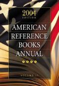 American Reference Books Annual 2004