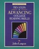 Ten Steps to Advancing College Reading Skills: Reading Level: 9-13 (Townsend Press Reading S...