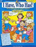 I Have, Who Has, Language Arts -- Grades 3-4: 38 Interactive Card Games