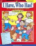 I Have, Who Has?, Language Arts -- Grades 5-6: 38 Interactive Card Games