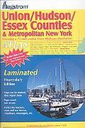 Hagstrom Union/Hudson/Essex Counties & Metropolitan New York Covering a 75 Mile Radius from ...