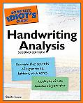 Complete Idiot's Guide to Handwriting Analysis
