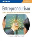 Entrepreneurism Exploring Entrepreneurship from a Business Process Perspective