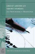 Great American Short Stories From Hawthorne To Hemingway