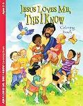 Jesus Loves Me Coloring Book Pre-K