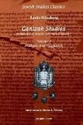 Genizah Studies in Memory of Doctor Solomon Schechter Midrash and Haggadah Volume 1