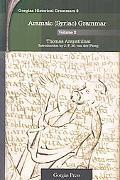 Aramaic - Syriac - Grammar, Vol. 2