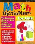 Math Dictionary: The Essential Guide to Math Terms, Strategies, and Tables - Theresa R. Fitz...