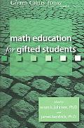 Math Education for Gifted Students