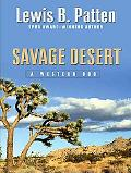 Savage Desert: A Western Duo (Five Star Western Series)