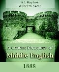 Concise Dictionary of Middle English 1888