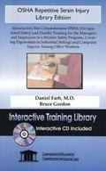 Osha Repetitive Strain Injury Introductory but Comprehensive Osha (Occupational Safety and H...