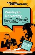 Wesleyan University College Prowler Off The Record