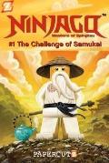 Ninjago Graphic Novels #1: the Challenge of Samukai