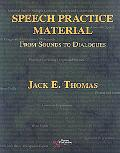 A Clinician's Manual of Speech Practice Material