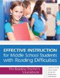 Effective Instruction for Middle School Students with Reading Difficulties: The Reading Teac...