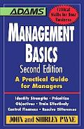 Management Basics A Practical Guide for Managers