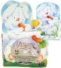 Five Little Bunnies (Die Cut Board Book and Music CD Sets)