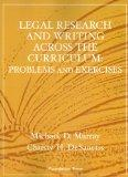 Legal Research and Writing Across the Curriculum: Problems and Exercises (Interactive Casebo...