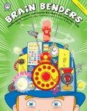 Brain Benders Intermediate Level Challenging Puzzles and Games for Math and Language Arts