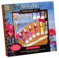 Acrylic Painting Kit: Professional materials and step-by-step instruction for the aspiring a...