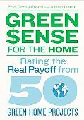 GreenSense for the Home: Rating the Real Payoff from 50 Green Home Projects
