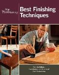 Fine Woodworking Best Finishing Techniques