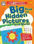 Big Book of Hidden Pictures and More! with Sticker(s)