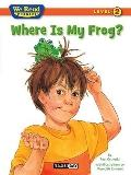 Where Is My Frog? (We Read Phonics: Level 2)