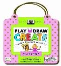 Greenstart Play, Draw, Create Princess : Reusable Drawing and Magnet Kit