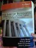 The Law of Business: as Influenced by its Legal, Social, Political and Technological Environ...
