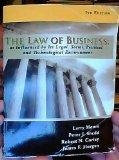 The Law of Business as Influenced by Its Legal, Social, Political and Technological Environm...