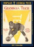 Georgia Tech Yellow Jackets 2011 Vintage Football Calendar