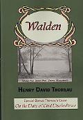 Walden with Thoreau's Essay on the Duty of Civil Disobedience
