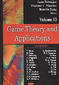 Game Theory and Applications. Volume 13