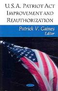U.S.A. Patriot Act Improvement Reauthorization