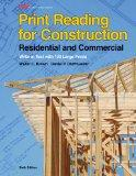 Print Reading for Construction : Residential and Commercial: Write-In Text with 130 Large Pr...