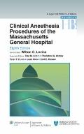 Clinical Anesthesia Procedures of the Massachusetts General Hospital: Department of Anesthes...