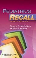 Pediatrics Recall (Recall Series)