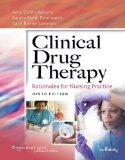 Clinical Drug Therapy + Study Guide Package