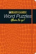 Brain Games : Word Puzzles Glam to Go!