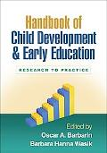 Handbook of Child Development and Early Education: Research to Practice