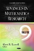 Advances in Mathematics Research, Volume 9