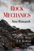 Rock Mechanics: New Research