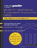 Kaplan PMBR: Multistate Professional Responsibility Exam (MPRE)